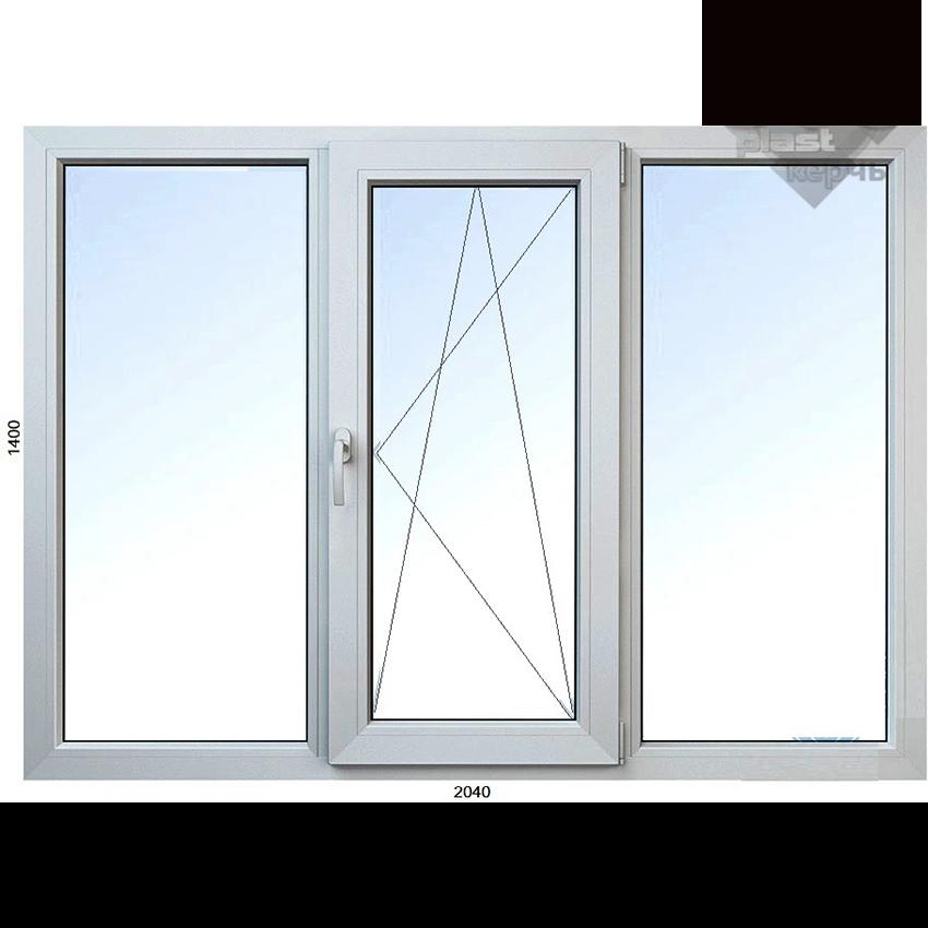 окно трёхстворчатое купить керчь